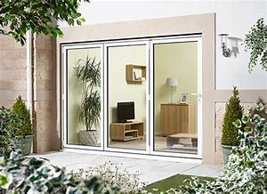2400mm 8ft 3 door right hand folding from outside With 8ft bifold doors