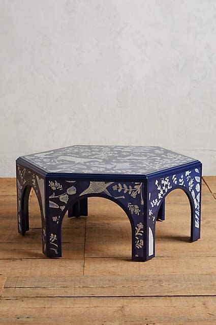 Navy Meadowscape Coffee Table