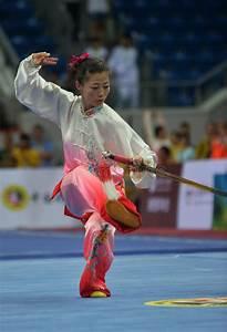 WOMAN TAI CHI SWORD Editorial Stock Photo - Image: 48756278