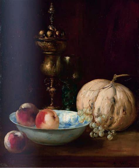 but cuisine signature antoine vollon nature morte au melon xixe siècle n 51875