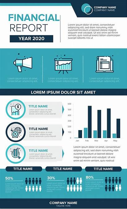 Infographic Financial Template Templates Examples Finance Infographics