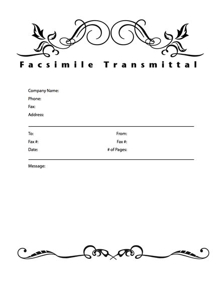 office fax cover sheet template download this cover