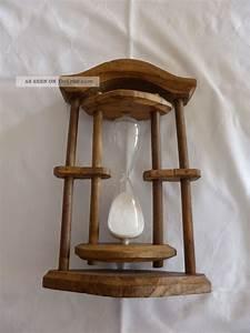 Antike Esstische Holz : antike sanduhr halbstundenglas aus holz eiche 30 min 1 2 stunde rustikal ~ Michelbontemps.com Haus und Dekorationen
