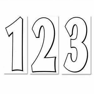 Black And White Numbers Pictures to Pin on Pinterest ...