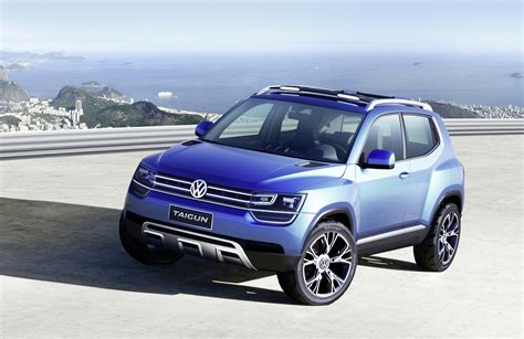 volkswagen suv volkswagen taigun concept previews new baby suv photos