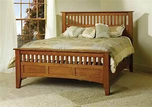 Mission Antique Bed TR1001 for $1,150 00 in Bedroom