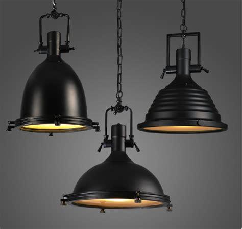 vintage pendant lights for kitchens 100 240v large heavy lustres home vintage industrial metal