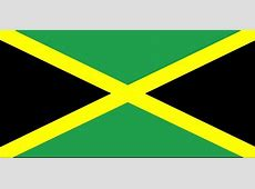 Free picture flag, Jamaica