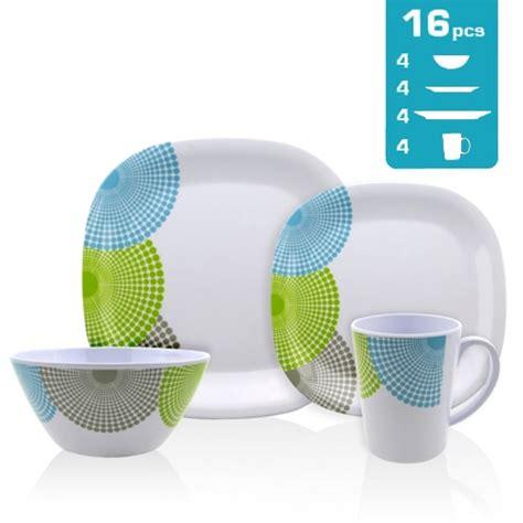 vaisselle en melamine danger lot de vaisselle m 233 lamine dotty 16 pi 232 ces