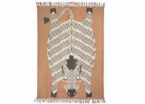 tapis decoratif pour enfant motif zebre naia chez ksl living With tapis motif zebre