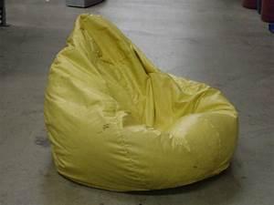 Large, 36, U0026quot, Yellow, Soft, Lounge, Bean, Bag, X6