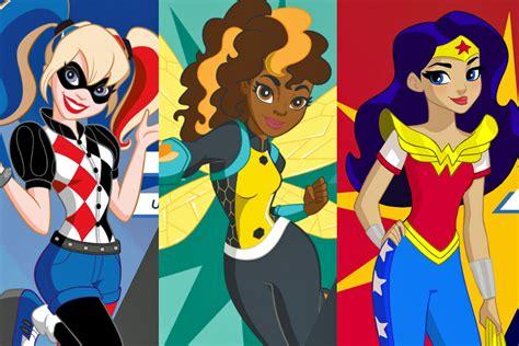 une premiere video pour lancer dc super hero girls