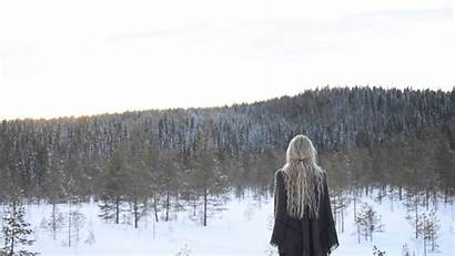Winter Kulning Forest Jinton Jonna