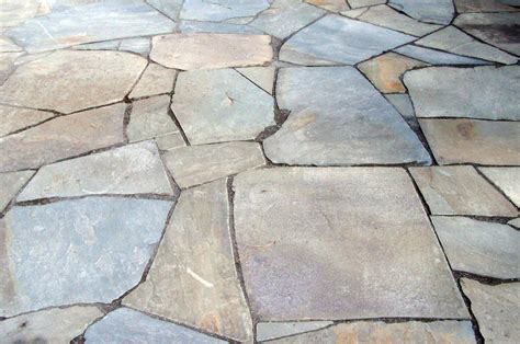 flat flagstone a practical guide to choosing patio materials quiet corner