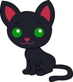 black cat clipart black kitty cat free clip