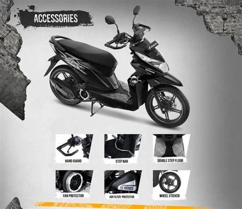 Variasi Motor Beat by Harga Aksesoris Honda Beat Esp Resmi Untuk