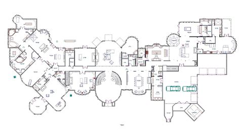 house plans for mansions mansions more partial floor plans i designed part 2