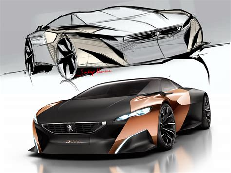 Peugeot Onyx  2012  Supercar Sketches