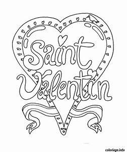 Dessin Saint Valentin : coloriage dessin saint valentin 24 dessin ~ Melissatoandfro.com Idées de Décoration