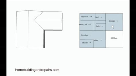examples  home addition location  floor plans