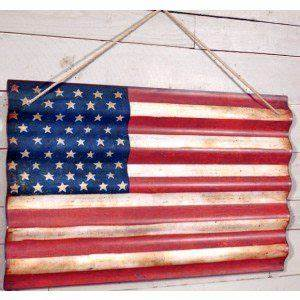 25 best ideas about corrugated metal on pinterest With best brand of paint for kitchen cabinets with rustic american flag wall art