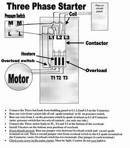 Three Phase Wiring Diagram Airpressor Schematic