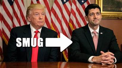 Ryan Trump Paul Asshole Smug Downwithtyranny Collapse