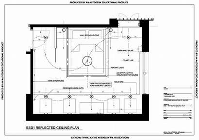 Ceiling Reflected Plan Interior Detailing 2708 Benv