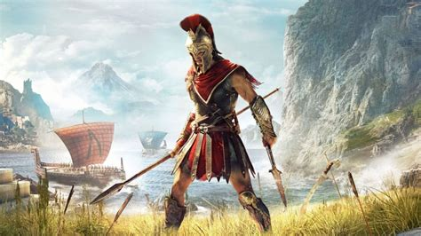 Toppling Leaders And Climbing Big Naked Zeus In Assassin S Creed Odyssey PC Gamer
