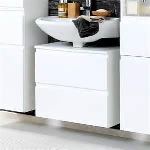badezimmer deckenleuchten waschbeckenunterschrank concetada in hochglanz weiß