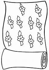 Carpet Coloring Pages Coloringway sketch template