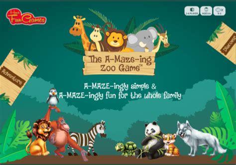 zoo game fun maze ing