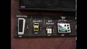 How To Set Up A Pedal Board For Bassists