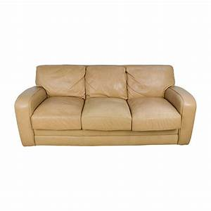 Seats Sofas : 78 off beige three seat leather sofa sofas ~ Eleganceandgraceweddings.com Haus und Dekorationen