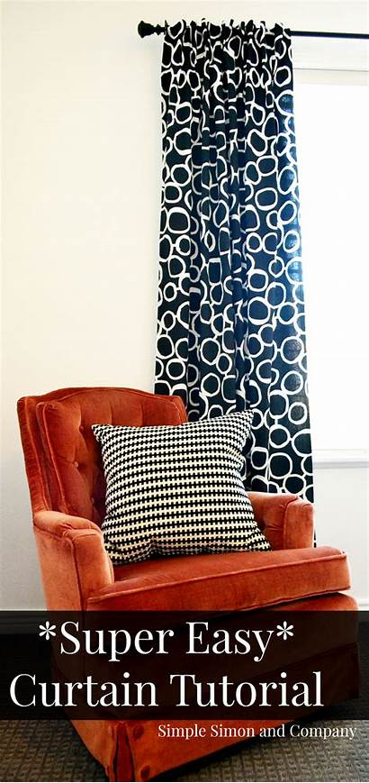 Tutorial Curtain Easy Simple Super Steps Sewing