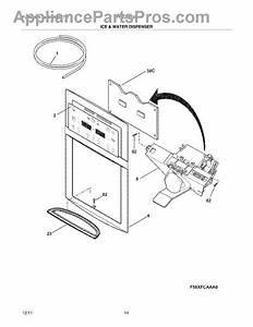 Parts For Frigidaire Ffsc2323lp5  Ice  U0026 Water Dispenser