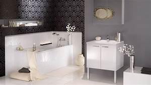 Papier Peint Pour Salle De Bain : tableau et papier peint quel style pour ma salle de bain ~ Dailycaller-alerts.com Idées de Décoration