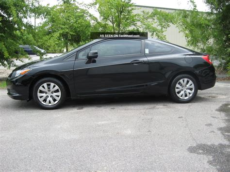 The 2012 civic has a great reliability rating of five out of five from j.d. 2012 Honda Civic Lx Coupe