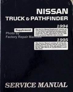 1995 Nissan Pick Up 2 4 Wiring Diagram : 1994 1995 nissan truck pathfinder service manual ~ A.2002-acura-tl-radio.info Haus und Dekorationen