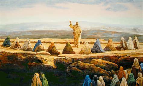 sermon   mount painting  bryan ahn