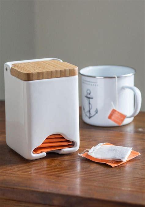 Tea Bag Dispenser  China And Wood  Tea Time  Pinterest