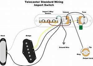 Telecaster Three Way Switch Wiring Diagram