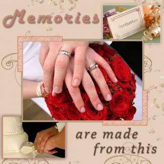 Wedding Scrapbook Ideas Lovetoknow Wedding scrapbook