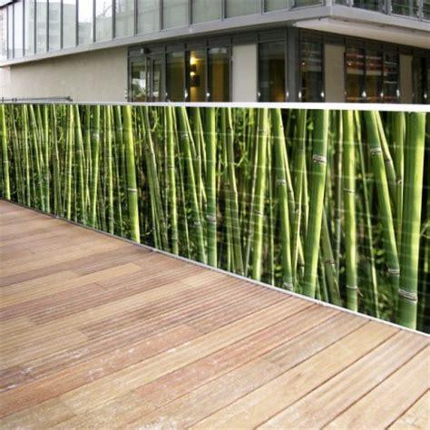 Brise vue Toile Bambous 0.80 x 3