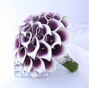 Purple Wedding Bouquet Purple Bridal Bouquet by ...