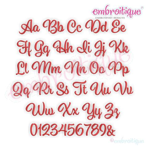 alphabets embroidery fonts addison monogram set small embroitique exclusive machine