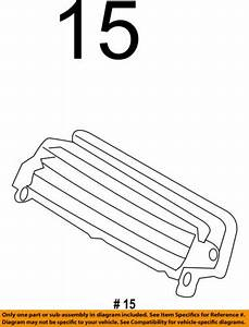 Lincoln Ford Oem 11 C Ac Heater