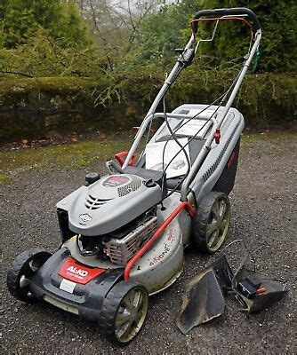 al ko silver 470 br messer al ko silver 470 bre powered lawn mower with electric start for service or spare 163 70 50