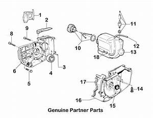 Partner K650 Fuel Tank Inside Stihl 026 Parts Diagram