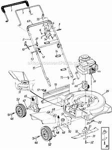 Yard Machines 11a-072a372 Parts List And Diagram